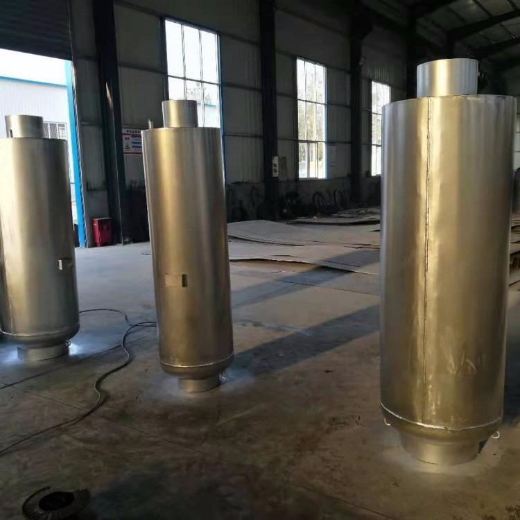 2019压缩空气排气消声器,造远压缩空气排气消声器,电厂专用压缩空气排气消声器
