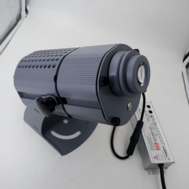 LED80W防水旋转LED灯 专业高清定制LED灯 户外logo文字图案广告LED灯