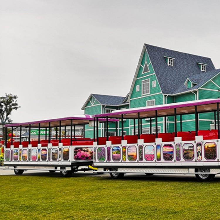 特色旅游小鎮無軌觀光小火車