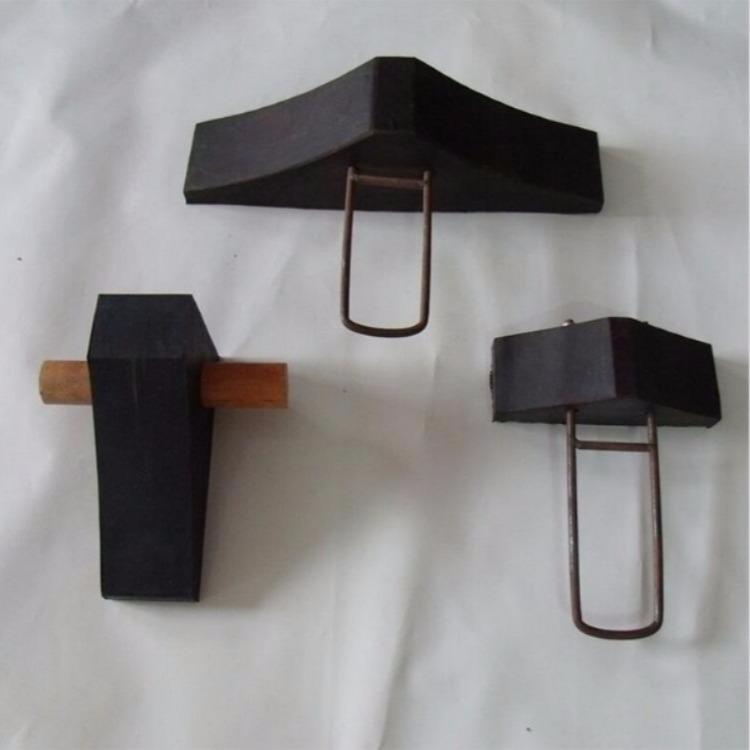 铁路工务器材 橡胶止轮器 单面橡胶止轮器 胶布止轮器