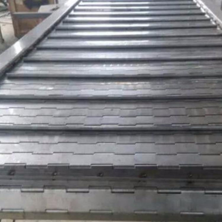 供应链板输送机 加工定制不锈钢链板输送机碳钢链板输送机