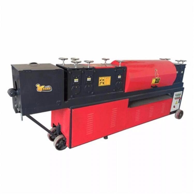 泛泰大棚钢管调直机厂家大棚钢管调直机价格多少钱