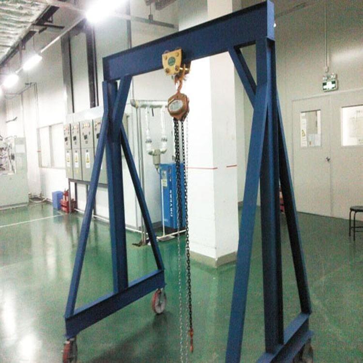 深圳移动龙门吊架 东莞吊模具工字钢吊架 珠海电动5吨龙门架