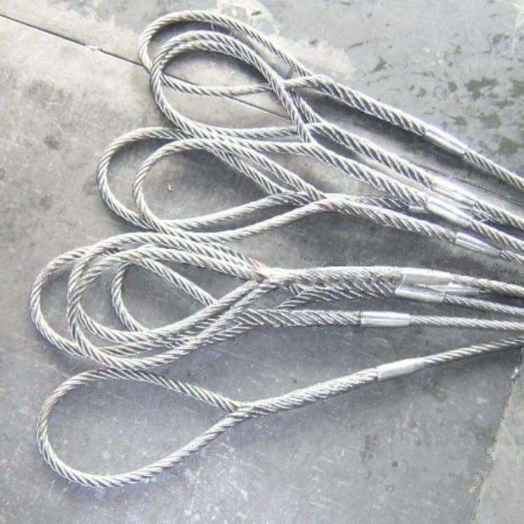 压制钢丝绳吊装索具 钢丝绳索具 吊索具 不锈钢索具 索具厂家
