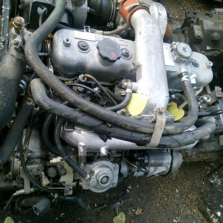 五十铃4JB1电喷 大泵 发动机