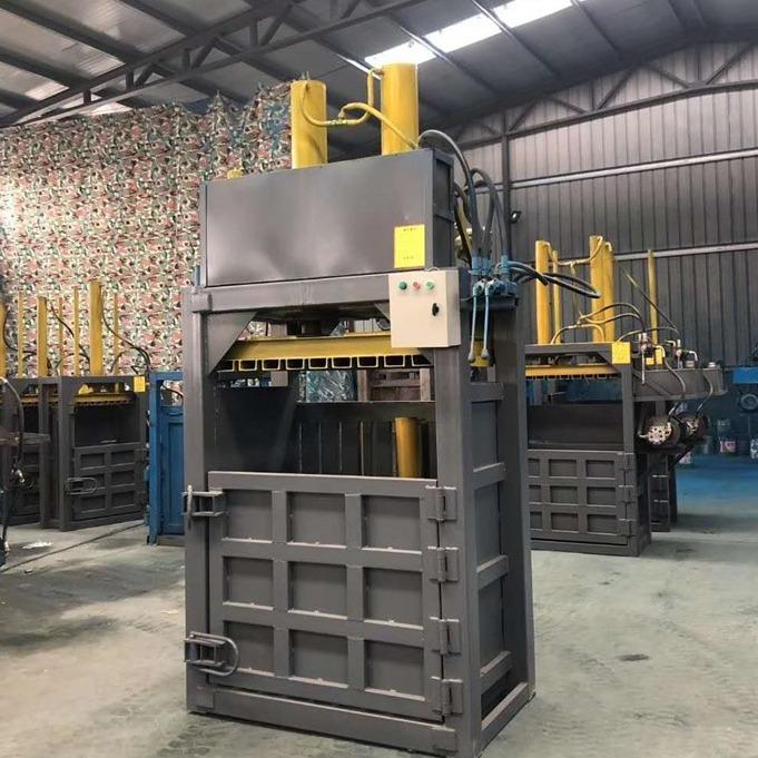 瑞轩机械 铁桶金属打包机 金属油漆桶大型打包机 塑料瓶金属打包机价格