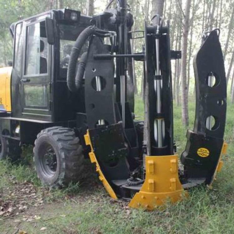 直销 植树挖坑机械 挖坑立杆一体机价格 立杆挖坑一体机