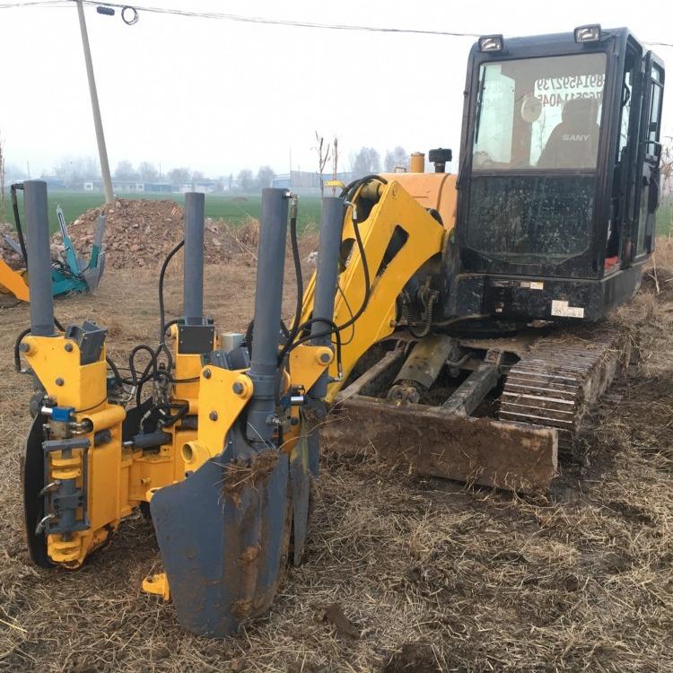 热销 挖掘机改旋挖钻机 电动抓料机 木削机 厂家特惠