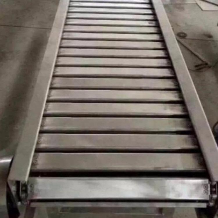 链板输送机厂家直销90度转弯饼干冷却链板输送机小鱼粉条输送机厂家直销