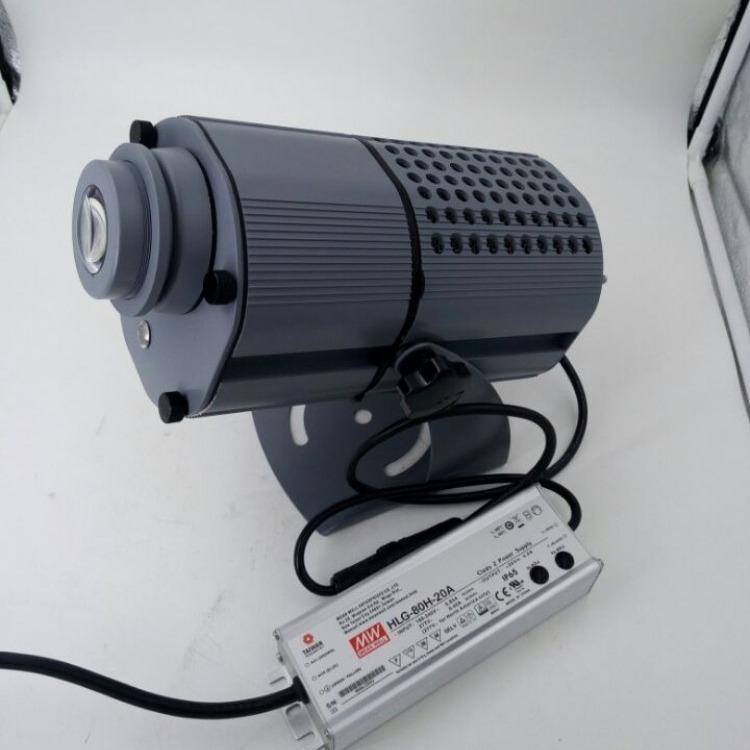 历宏LED80W-FY户外防水月亮led灯,互动投影灯
