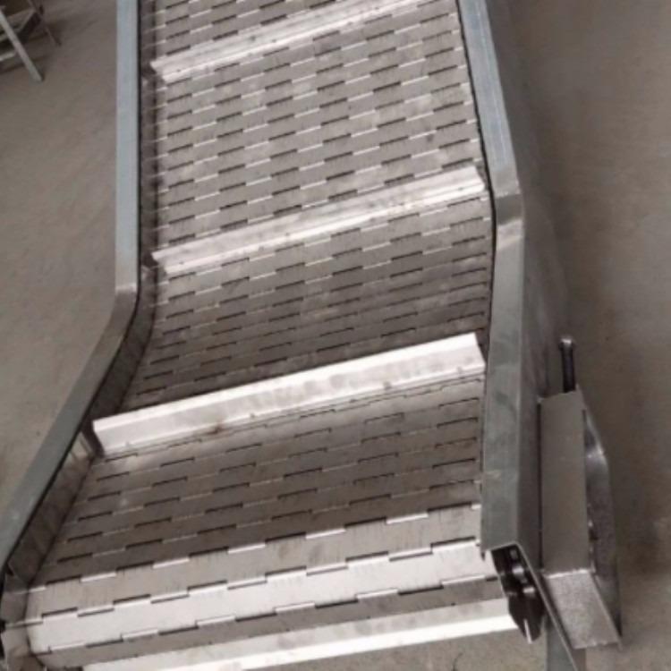 厂家链板输送机 降温链板输送机价格 食品链板输送机