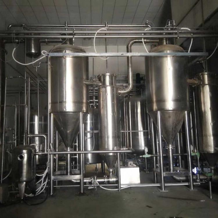 长期出售二手蒸发器  5吨 三效四体蒸发器  浓缩蒸发器转让