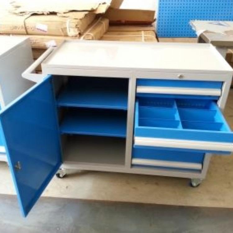 码头船舶用不锈钢工具箱,加厚重型工具箱,移动工具箱抽屉式双轨