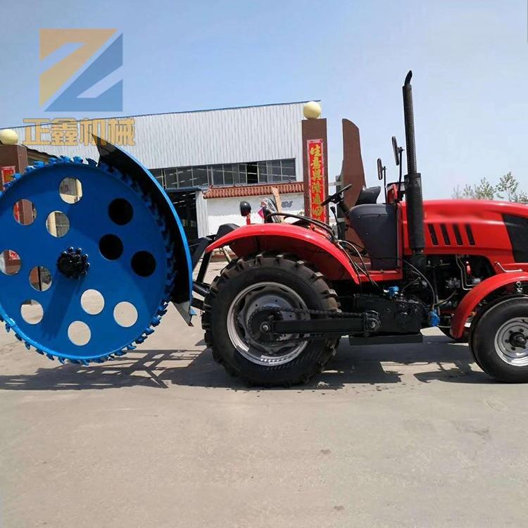全国销售开槽机 拖拉机开沟器价格 正鑫机械拖拉机开沟器厂家