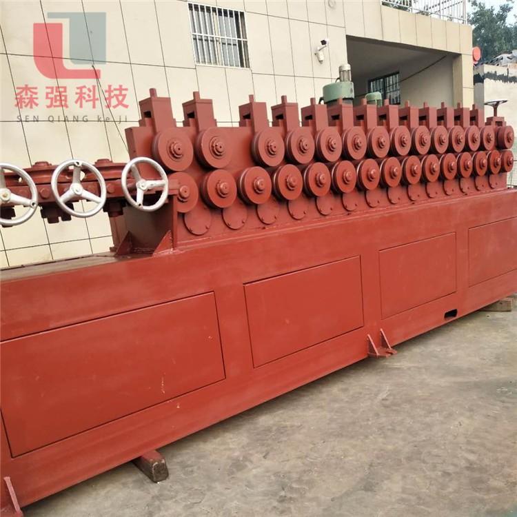 厂家直营带肋钢筋调直机 多轮调直机价格 森强机械多轮调直机厂家