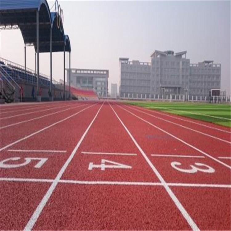 安徽淮北濉溪学校塑胶地面铺装