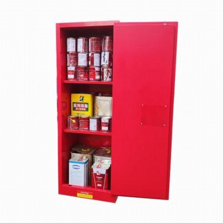 防火安全柜现货批发、危险化学品储存柜、存放酒精防火防爆柜、天那水易燃易爆物品置放柜