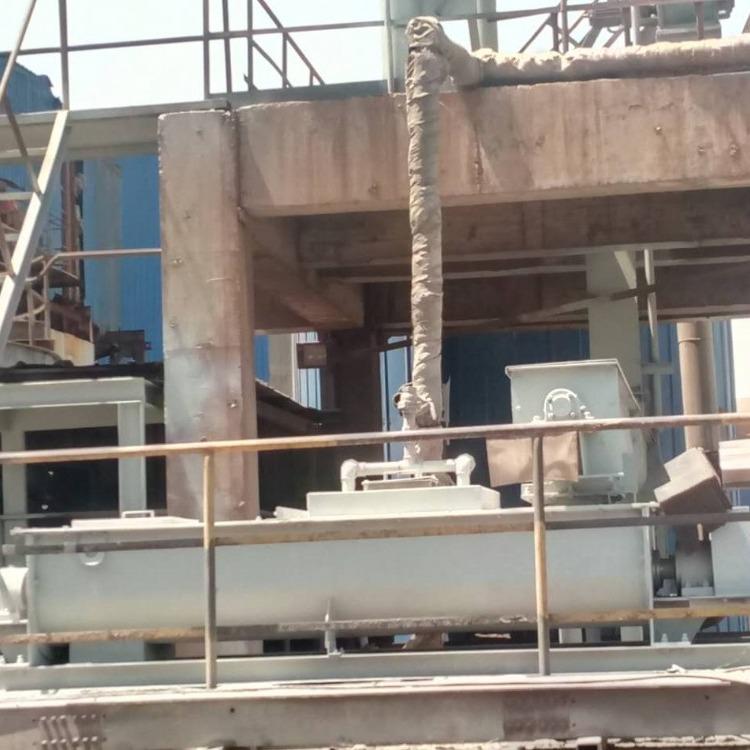 洪捷厂家直供  粉尘搅拌机 卧式双轴加湿搅拌机 煤泥双轴搅拌机  矿山搅拌机