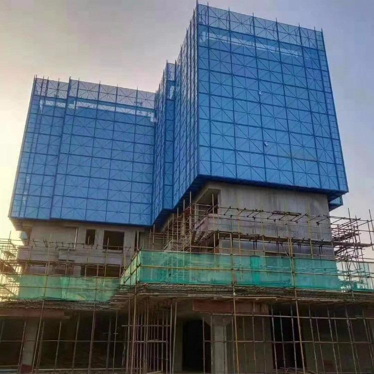 毕节高层爬架钢网 爬架建筑网爬架网片|全钢网爬架 爬架平网