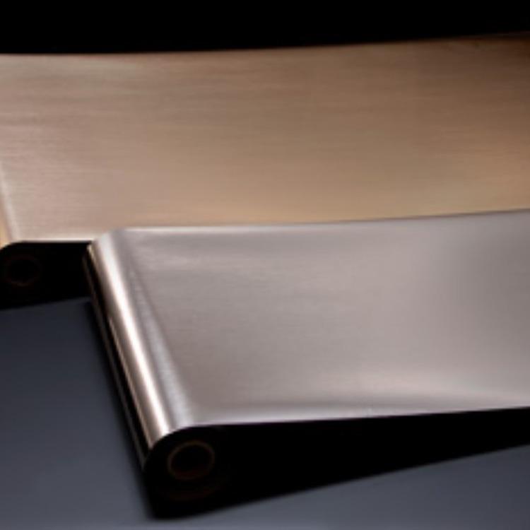 韩国拉丝金银色烫金纸,青岛烫金箔烫金膜,电化铝烫金纸