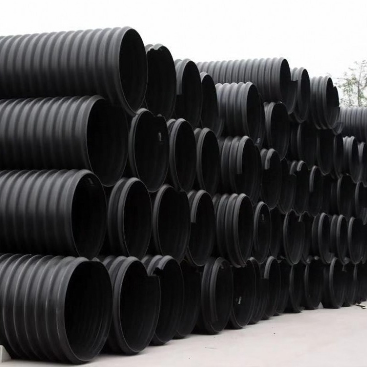 HDPE给水管HDPE给水管材 HDPE排污管 排污用HDPE管 HDPE优质波纹管