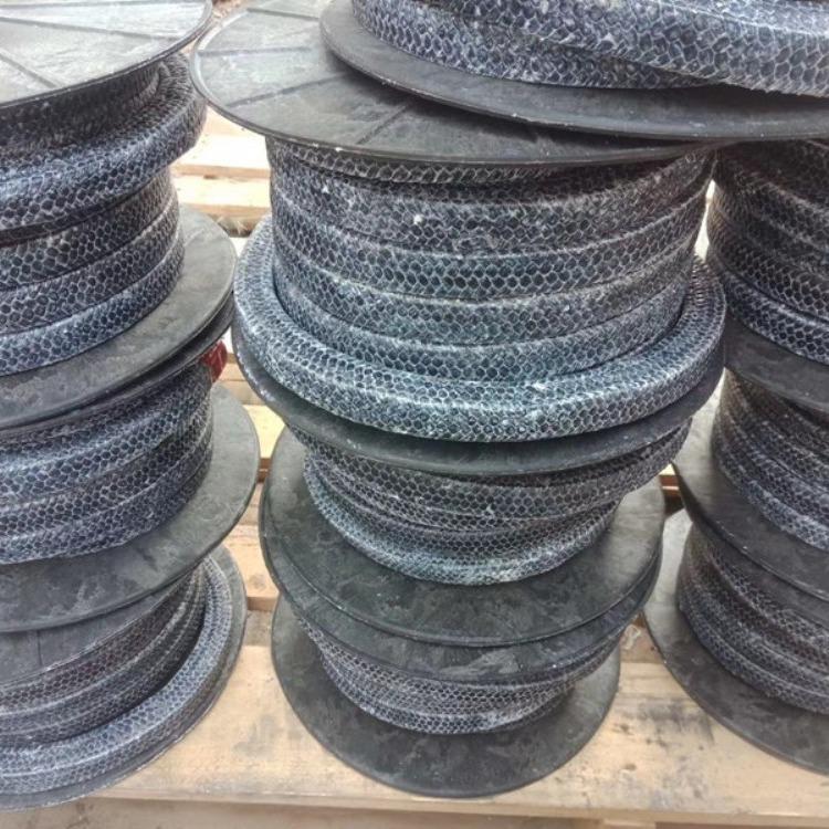 碳素纤维盘根 碳纤维盘根 碳化纤维盘根 碳素盘根规格