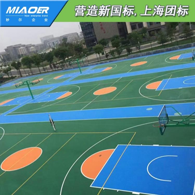 濉溪篮球场地施工施工企业