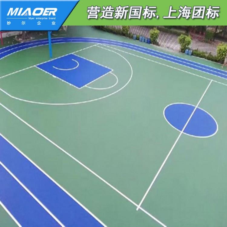 网球场球场地板南京高淳8mm硅pu球场装修施工