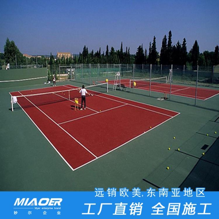 露天丙烯酸网球场杭州桐庐球场室内地胶体育设施公司