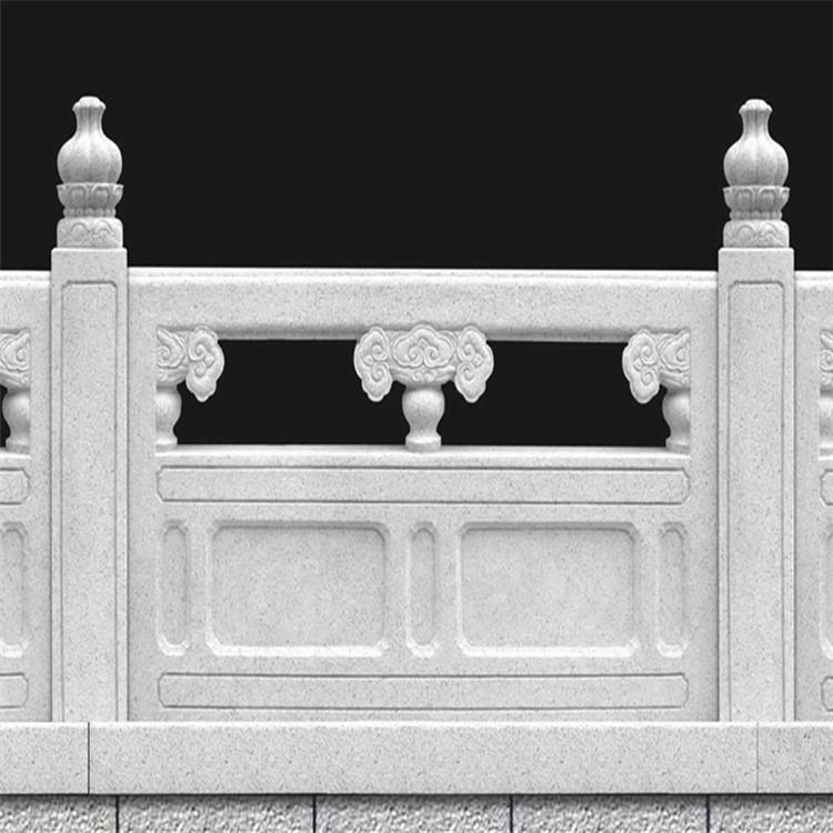精品天然石栏杆护城河石栏杆公园庭院升旗台防护石栏杆
