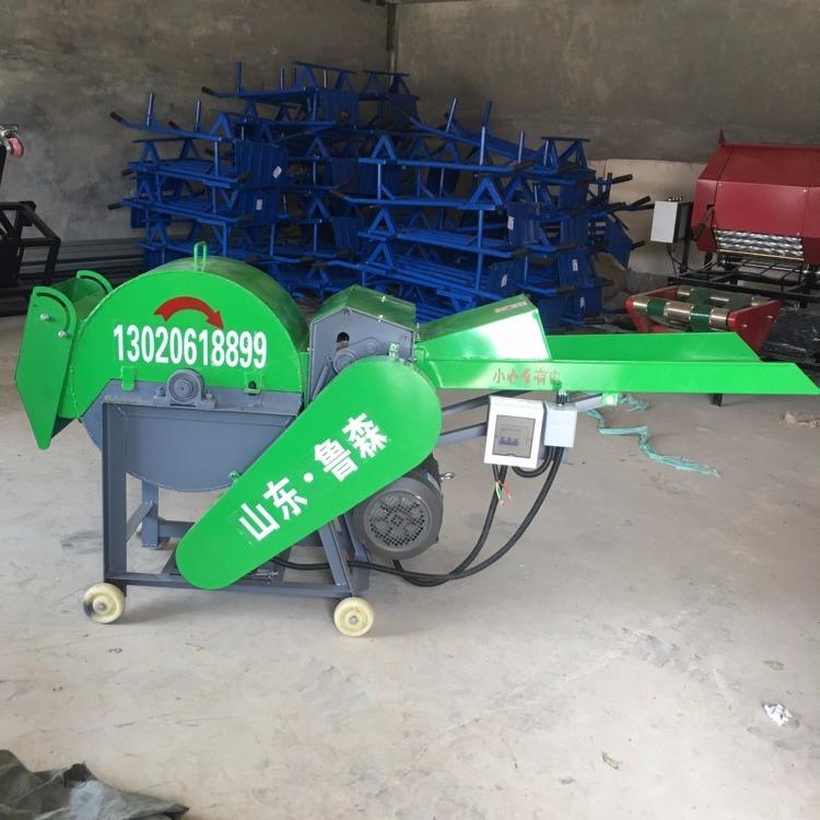 牛羊玉米秸秆粉碎机 小型干湿秸秆粉碎机 皇竹草粉碎机