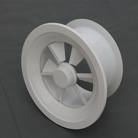 新骏专业生产 旋流风口 圆形旋流风口 电动旋流风口
