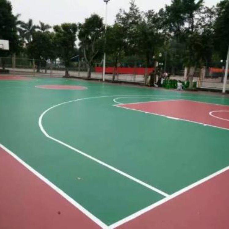 硅pu篮球场公司售价施工场