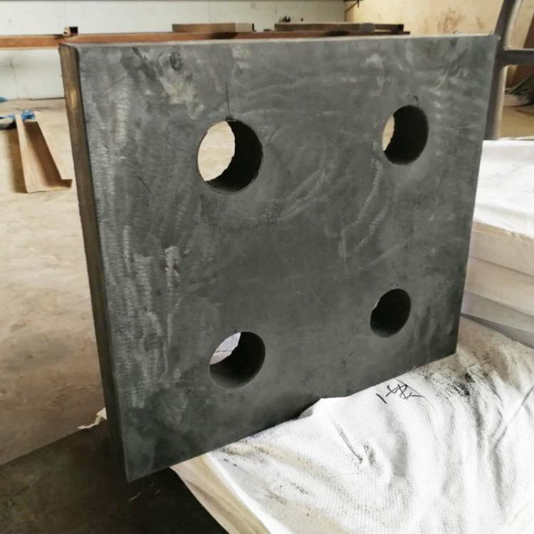 钢结构网架橡胶支座球铰钢支座 四孔橡胶支座直销钢结构连廊支座