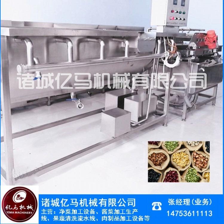 厂家直销亿马牌草莓气泡清洗机 涡流清洗机价格 果蔬气泡清洗机 净菜加工生产线哪家好