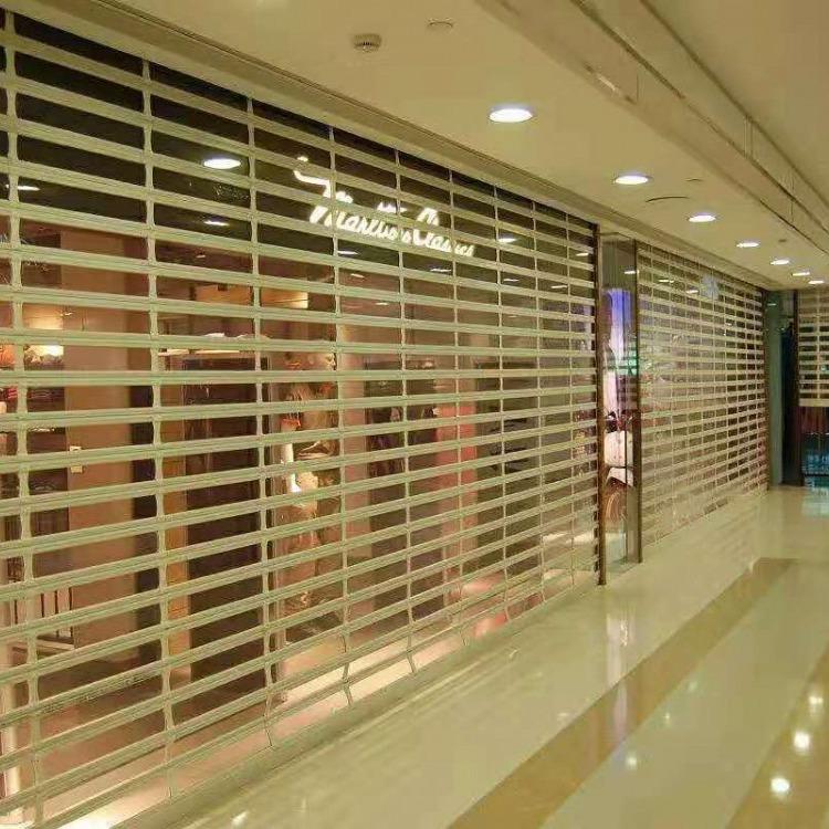 pvc水晶门折叠水晶门天津水晶门厂家 西青区商场弧形水晶门安装价格