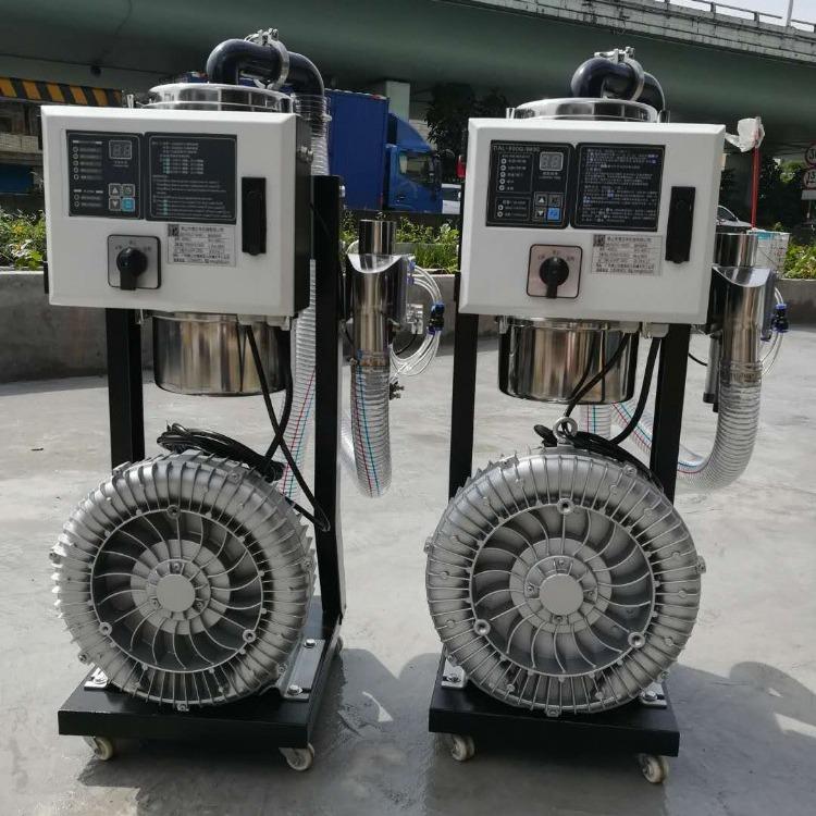 老板推荐一拖二塑料吸料机 注塑机上用自动加料机 900G真空吸料机 佛山文丰塑料机械厂家