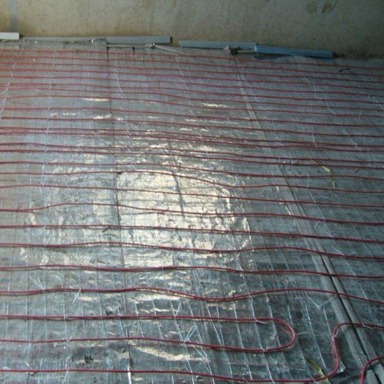 碳纤维远红外智能电地暖 24k碳纤维长丝电地暖 硅胶碳纤维地暖