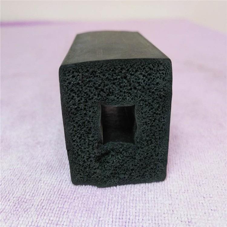 鸿联批发硅胶发泡密封条,密封橡胶条,e型硅胶条