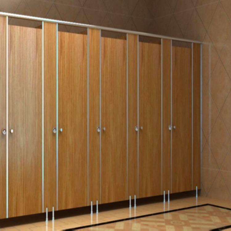 冠美 办公室商场pvc卫生间隔断门安装施工
