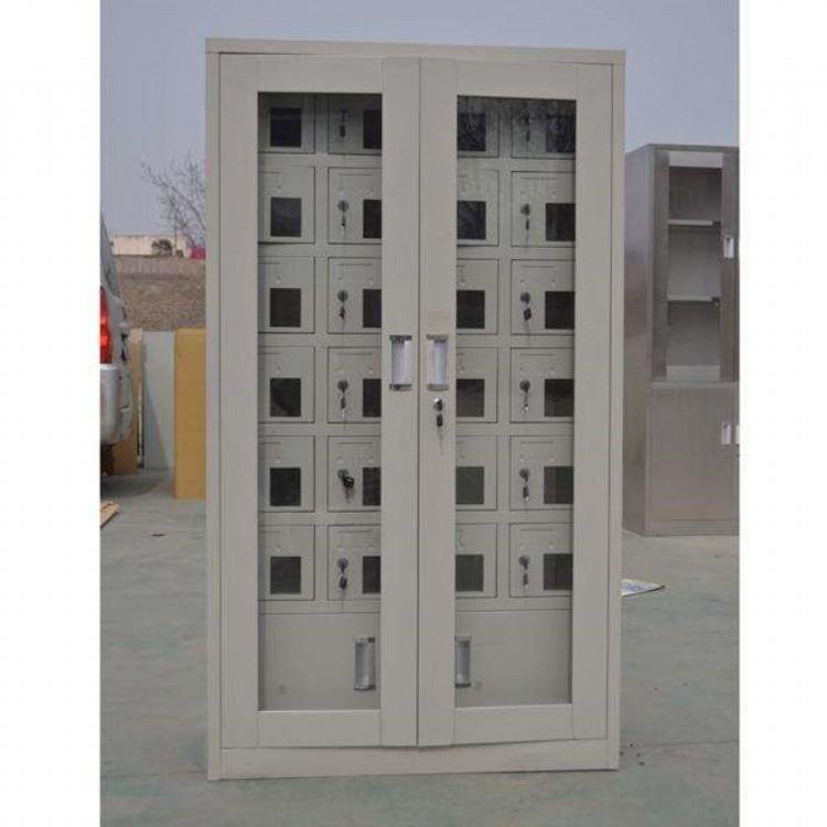 手机存放柜 充电柜USB插口 存放箱保管柜 部队员工寄存柜50门40门