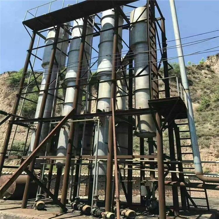 常年出售二手蒸发器 二手单效 双效 三效 四效降膜强制循环 浓缩蒸发器 二手MVR蒸发器