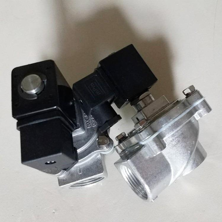 睿阔专业生产 电磁脉冲阀 直角式电磁 淹没式电磁脉冲阀  DMF-Y型螺接式 滑动式上海脉冲阀直角式电磁脉冲阀