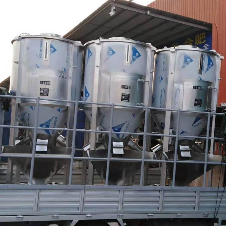 佛山文丰1吨 2吨 3吨塑料搅拌机厂家 不锈钢领搅拌机 螺旋式塑料拌料机
