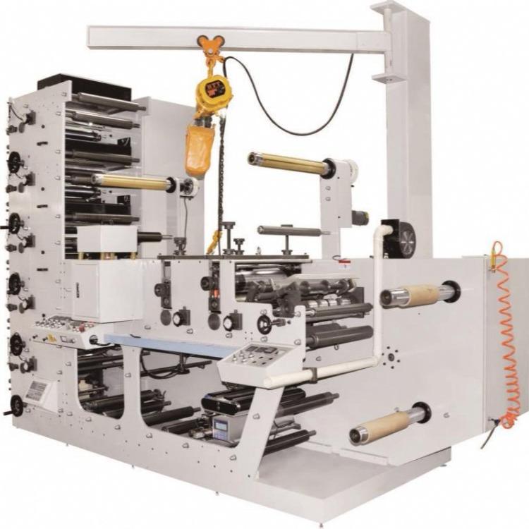 厂家直销  商标柔性版印刷机  标签印刷