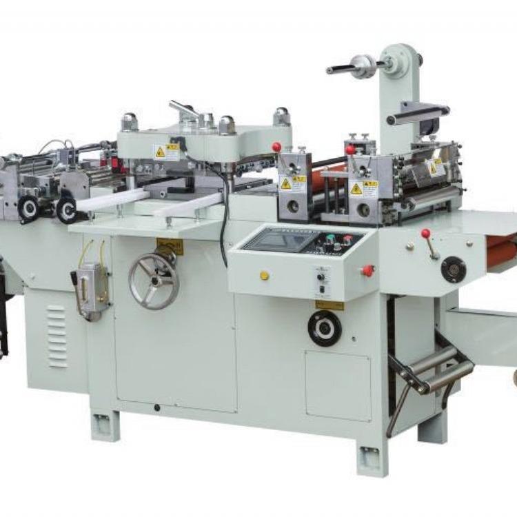 厂家定制  320型全自动平压平商标模切机平刀模切机