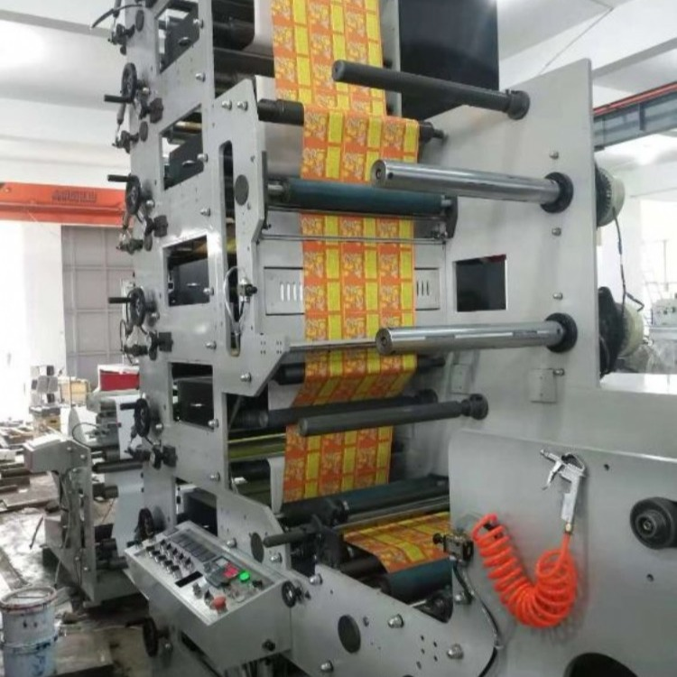 厂家直销花炮纸鞭炮烟花包装柔版印刷机