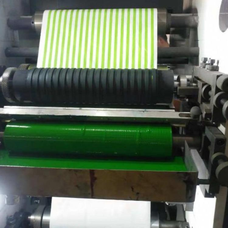 机械自主创新650型柔版纸吸管印刷机纸张印刷机