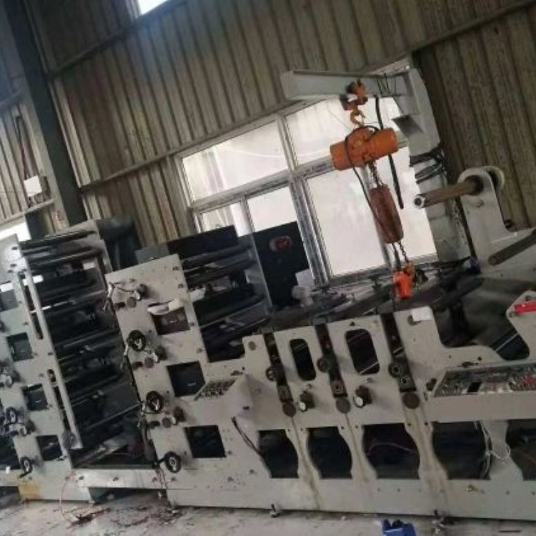 南征机械公司专供物流标柔版印刷机快递面单