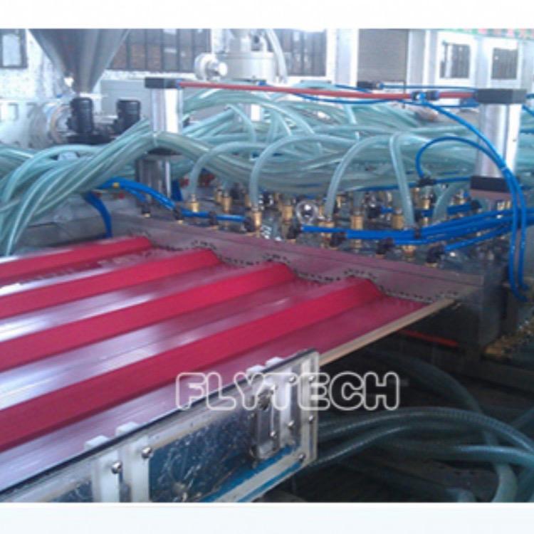 中空波浪瓦生产线价格,PVC中空波浪瓦生产线设备